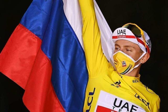 Tour-de-France-Sieger Tadej Pogacar: