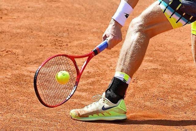 Der Tennisclub Lahr investiert in Spielfelder mit Teppichbelag