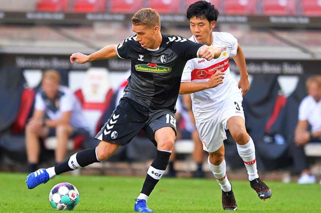 Mit einem 3:2 kann sich der SC Freibur...eiern den ersten Derby-Sieg seit 2012.    Foto: Achim Keller/SC Freiburg