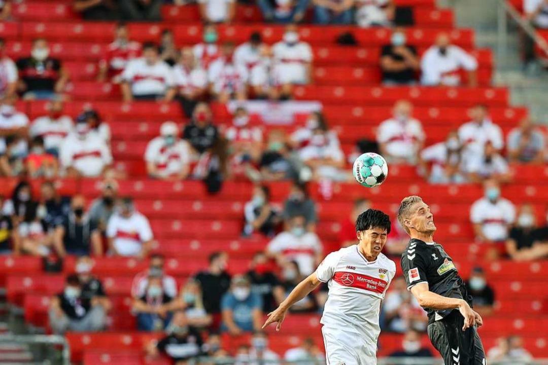 Mit einem 3:2 kann sich der SC Freibur...eiern den ersten Derby-Sieg seit 2012.    Foto: Tom Weller (dpa)