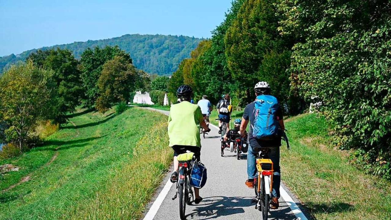 Auftakt zum Stadtradeln in Lörrach  | Foto: Ansgar Taschinski
