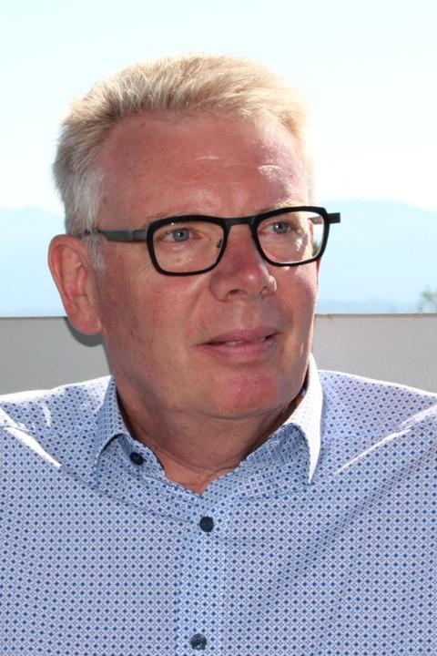 Christian Riesterer ist seit 2014 Bürgermeister in Gottenheim  | Foto: Mario Schöneberg