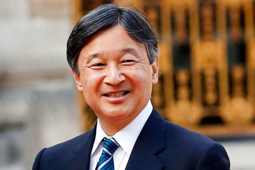 Das ist der japanische  Kaiser Naruhito.  | Foto: Christophe Ena (dpa)