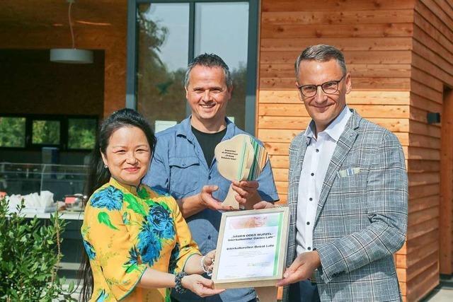 Der Interkulturelle Garten ist von den Vereinten Nationen geehrt worden