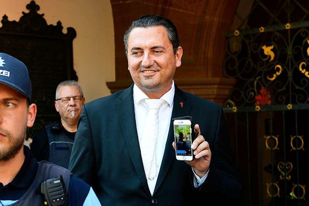 Folgen für Mandic' Mandat als St... Freiburg hätte die Ämtersperre nicht.  | Foto: Ingo Schneider