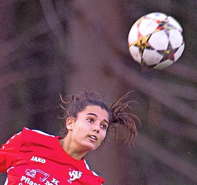 Lisa Hertenstein erzielte den Bonndorfer Siegtreffer.   | Foto: Wolfgang Scheu