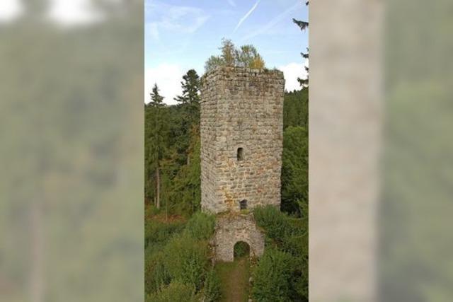 Auf dem Römerweg zu den sagenhaften Ruinen im Steinatal