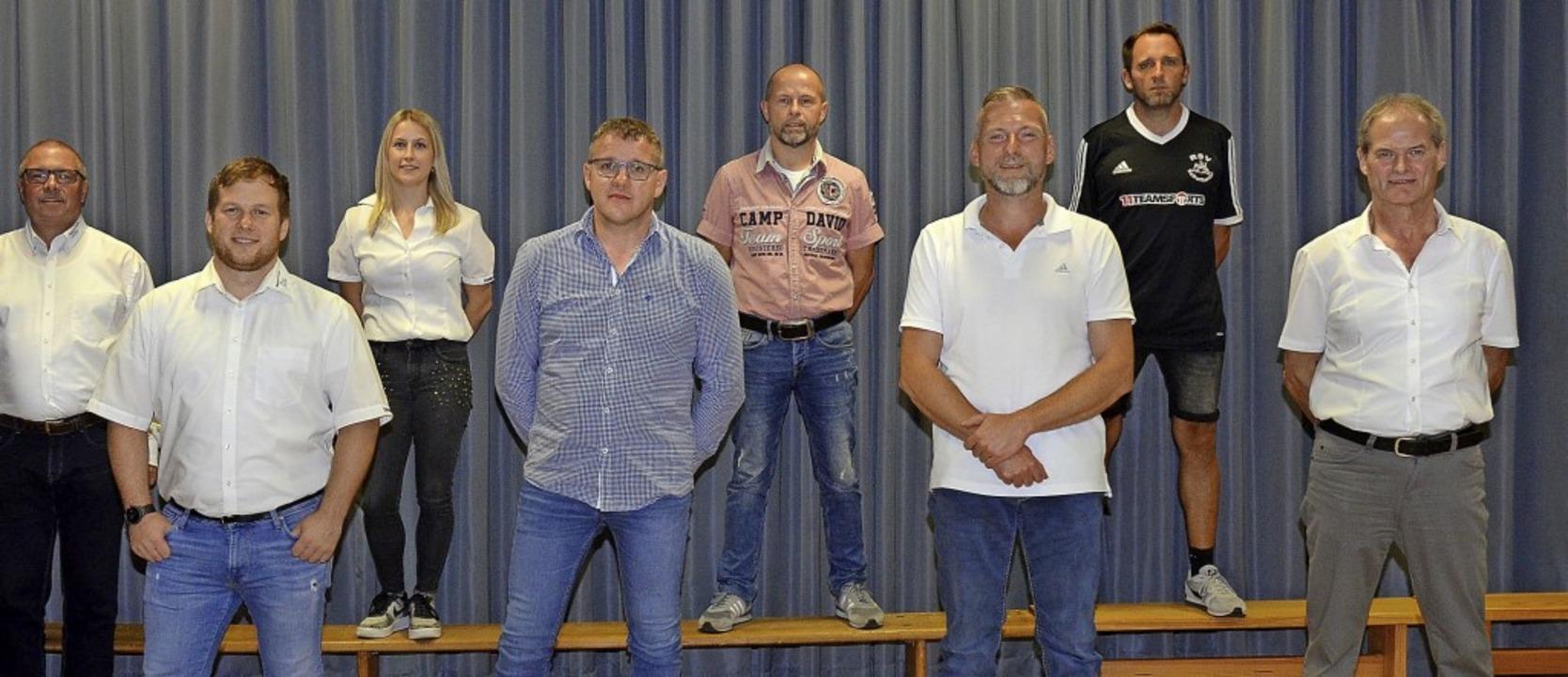 Der scheidende Vorsitzende Klaus-Peter... Siegfried Brosamer und Etienne Meßner  | Foto: Beate Zehnle-Lehmann