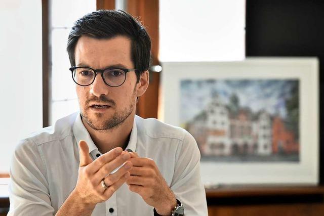 Freiburgs OB Horn nimmt Elternzeit – im Februar kommt sein drittes Kind