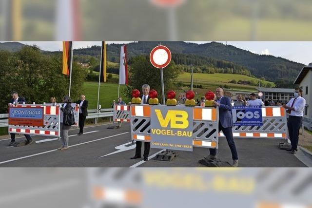 Die B 294 führt jetzt an Niederwinden vorbei