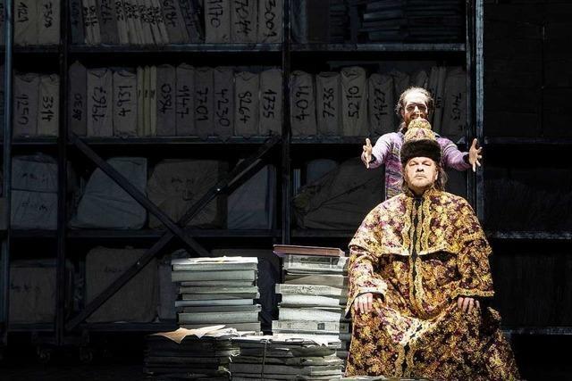 Die Oper Zürich spielt Mussorgskis