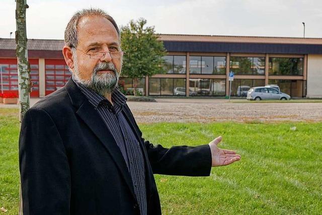 Rainer Ordegel will Investitionen in den bestehenden Kindergarten auf den Prüfstand stellen