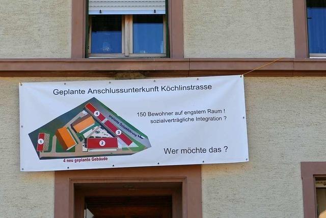 Anwohner fordern bessere Verteilung von Flüchtlingen in Steinen