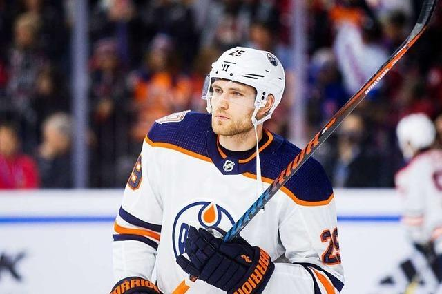 Erster Deutscher zum wertvollsten Spieler der US-Eishockeyliga NHL gewählt