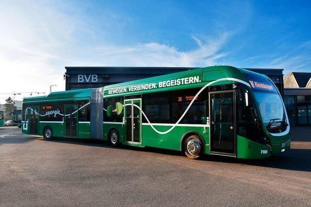 Die Basler Busflotte wird komplett elektrisch