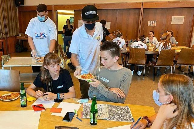 Auch Pizza lockt in Schopfheim nur wenige Jugendliche zur Politik