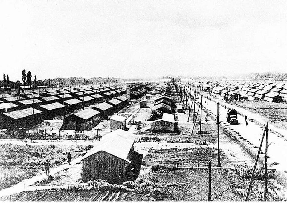 Das französische Internierungslager Gurs in Südfrankreich  | Foto: BZ