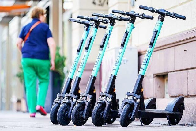 Warum es in Freiburg noch keine E-Scooter zum Ausleihen gibt