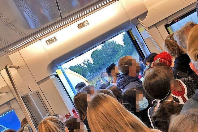Breisgau-S-Bahn startet mit Panne in die zweite Woche nach den Sommerferien