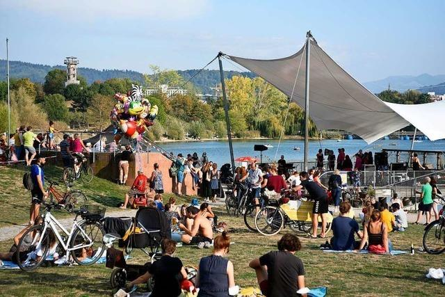 Der Freiburger Seepark kommt an die Belastungsgrenze