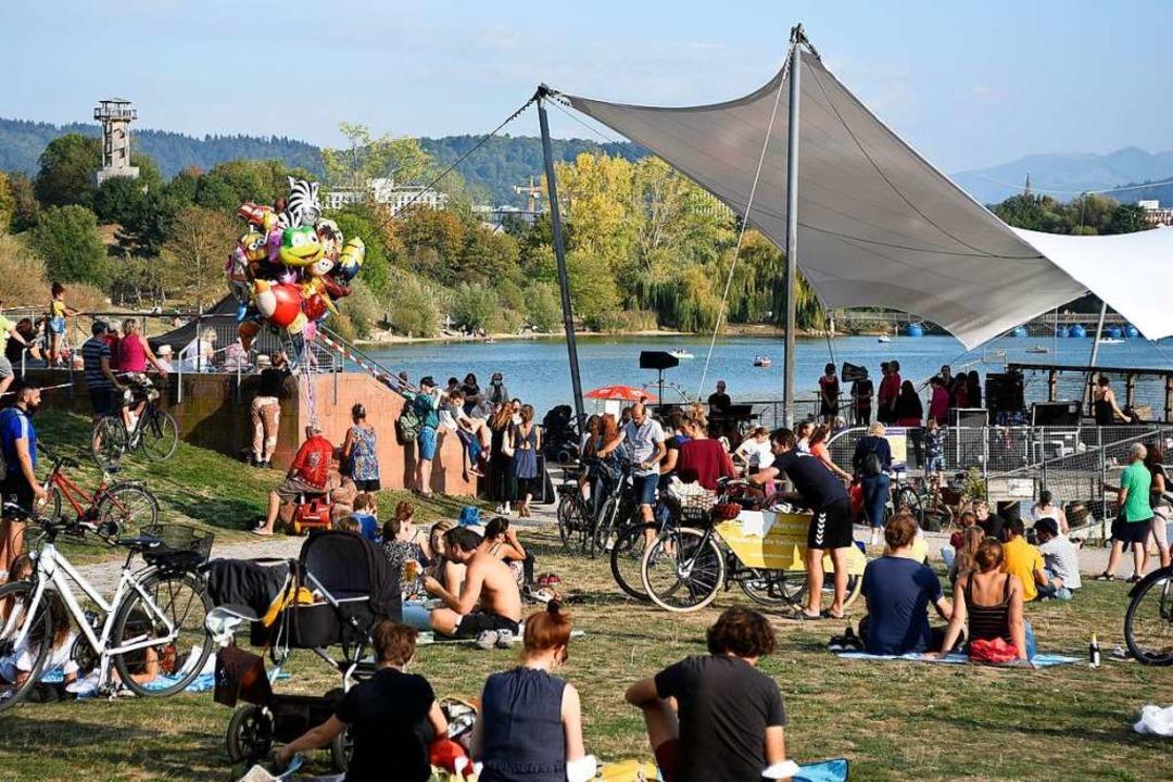 Tausende Menschen suchen den See tägli...un das auch zunehmend rücksichtsloser.  | Foto: Thomas Kunz