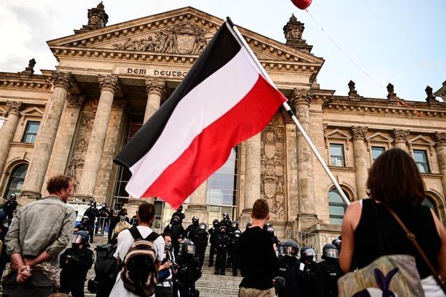 Landes-SPD fordert Verbot von Reichsfahnen – Kretschmann auch