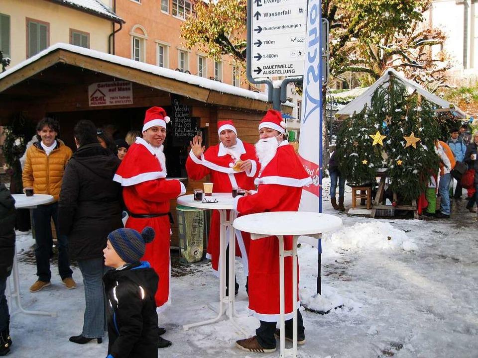 Auch der Weihnachtsmarkt wird abgesagt.    Foto: privat
