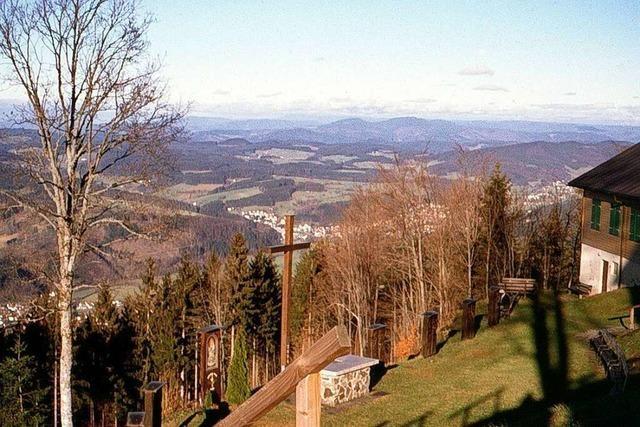 Von Bleibach zur Wallfahrtskirche auf dem heiligen Berg des Elztals
