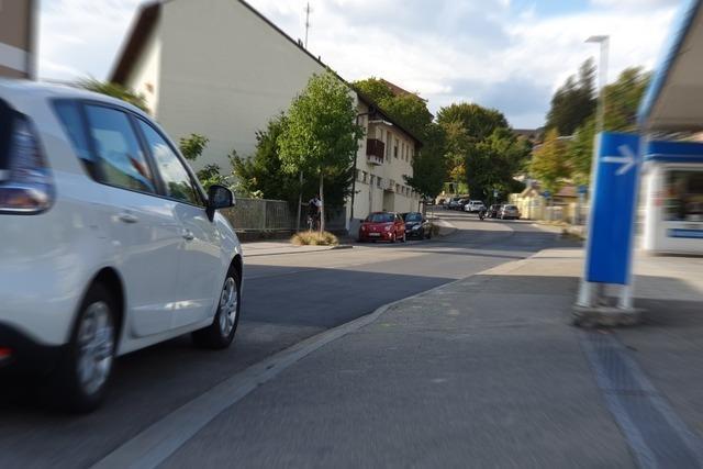 Die Einbahnregelung in der Turmstraße ist aufgehoben worden