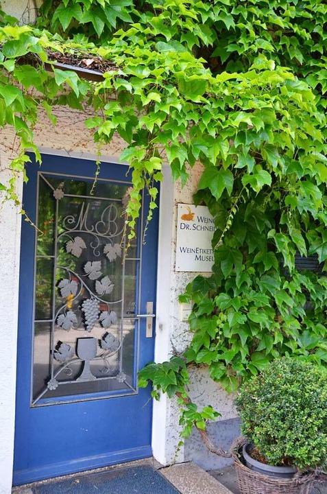 Weinetikettenmuseum in Zunzingen  | Foto: Anita Fertl