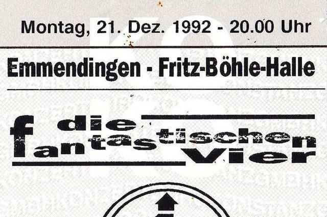 1700 Jugendliche feierten vor 28 Jahren bei und mit den Fanta 4