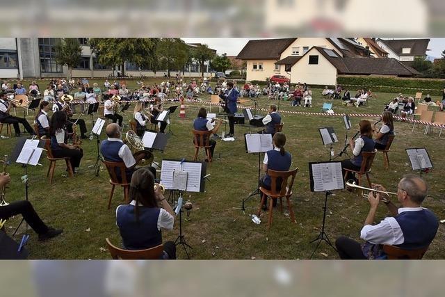 Picknick-Konzert wird zum Erfolg