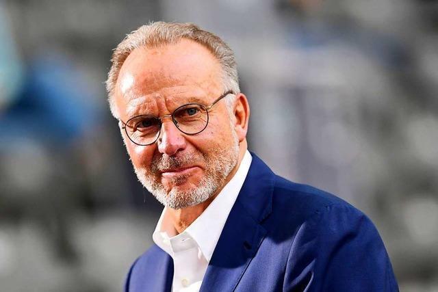 Karl-Heinz Rummenigge spricht über seine Pläne beim FC Bayern