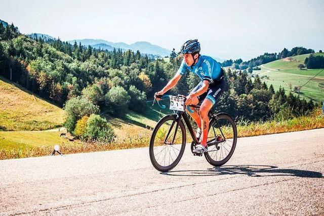 David Breinlinger fährt den Schauinsland schneller hoch als jeder andere