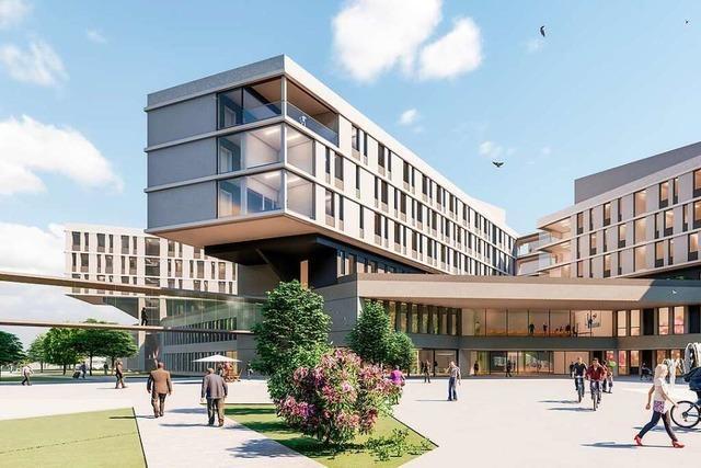 Im November soll der Bau des Zentralklinikums in Lörrach beginnen