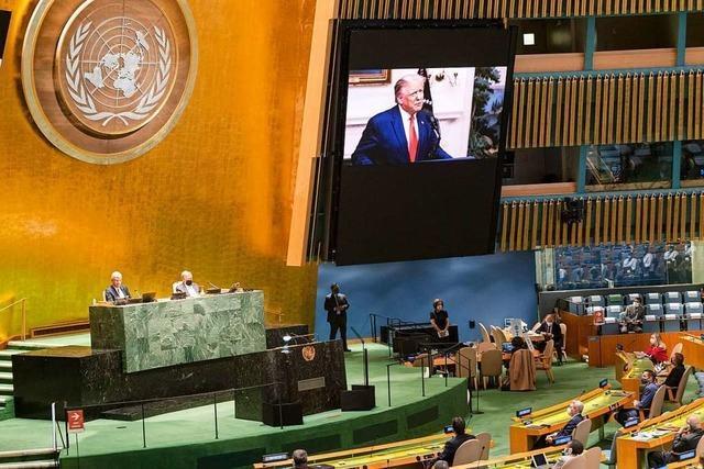 USA und China streiten bei UN-Versammlung – Warnung vor neuem