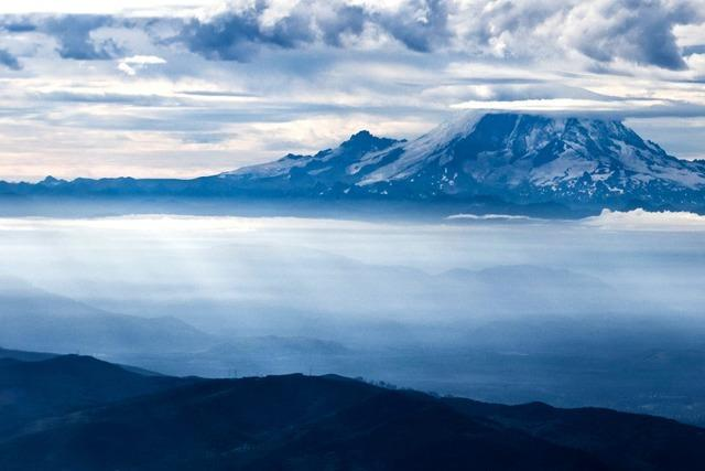 Rauchwolken im Westen der USA