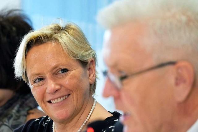 Susanne Eisenmann ist vor der Landtagswahl eine unangenehme Gegnerin für Kretschmann