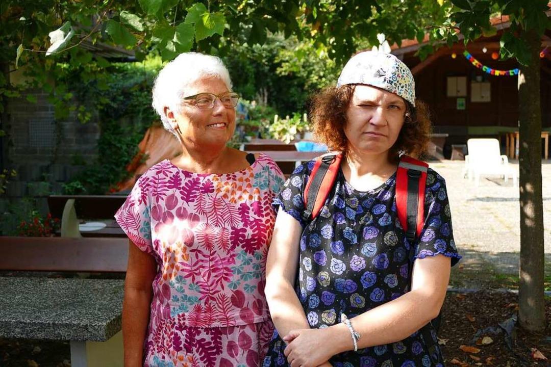 Die Fotografie verbindet Mutter und Tochter: Helga und Saskia Schneider  | Foto: Dora Schöls