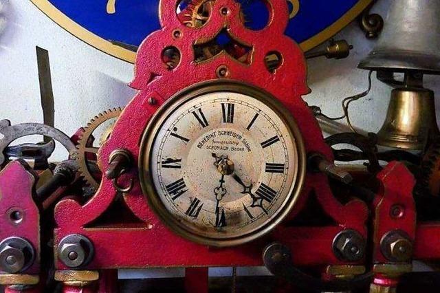 Die Stadt Weil erhält überraschend ein altes Uhrwerk zurück