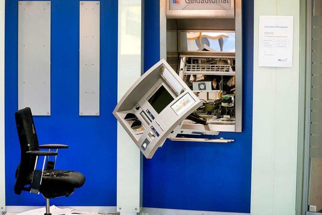 Symbolbild: Unbekannte haben in Pfaffenweiler einen Geldautomaten gesprengt  | Foto: Arnulf Stoffel