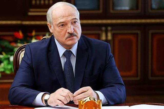 Staatschef Lukaschenko zum sechsten Mal ins Amt eingeführt