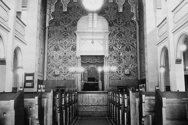 Vor 150 Jahren wurde die alte Synagoge in Freiburg eingeweiht