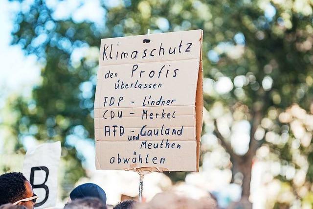 Polizei rechnet mit Beeinträchtigungen durch Fridays-For-Future-Demo am Freitag