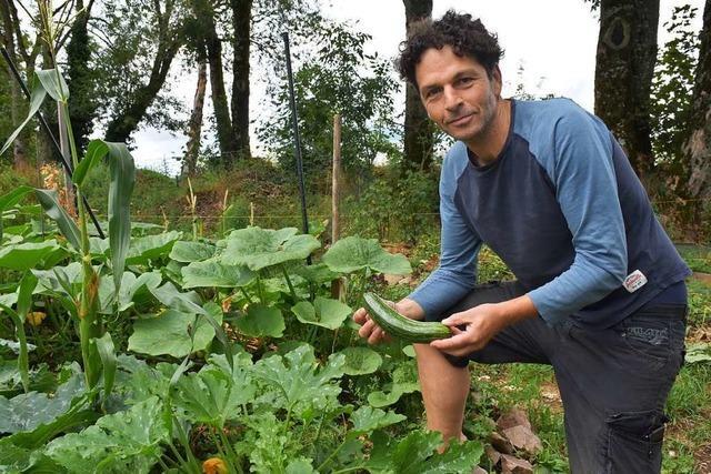 Jugendhilfe Timeout zeigt, dass auch auf 1000 Metern Höhe Gemüseanbau möglich ist