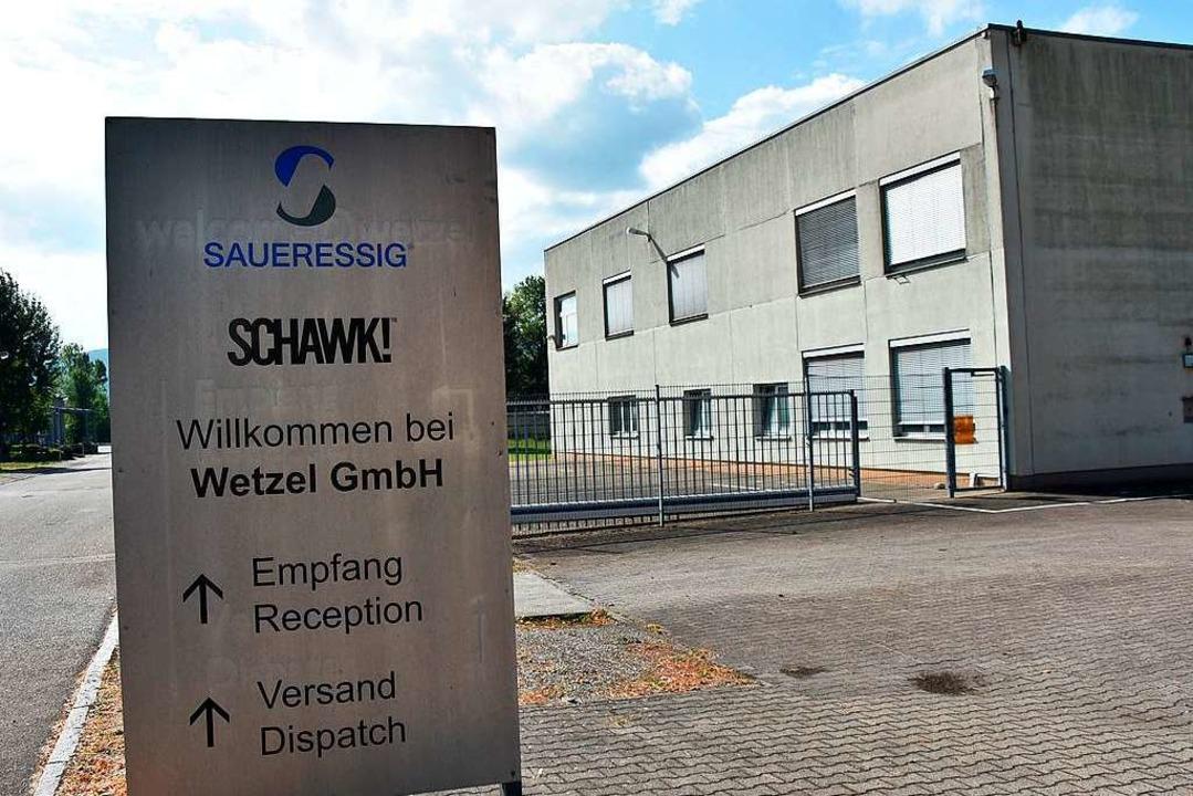 Wetzel ist in Grenzach-Wyhlen ein Traditionsunternehmen.  | Foto: Heinz und Monika Vollmar