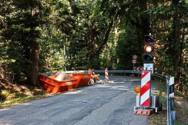 Kandelstraße ist voraussichtlich ab Samstag wieder befahrbar