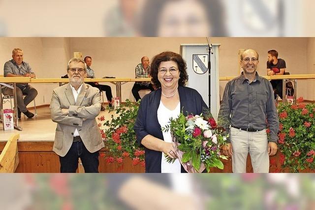 Sigrid Böhler verabschiedet