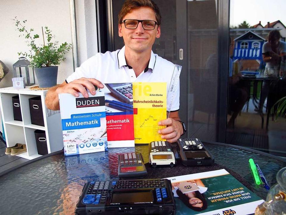 Mathe war schon immer das Lieblingsfac...hoben, mit denen er je gearbeitet hat.  | Foto: Jutta Schütz