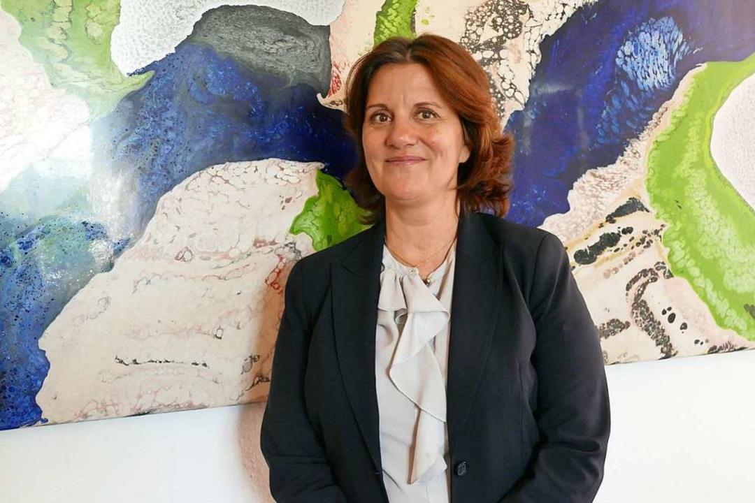 Geschäftsführerin Erika Zender  | Foto: Ingrid Böhm-Jacob